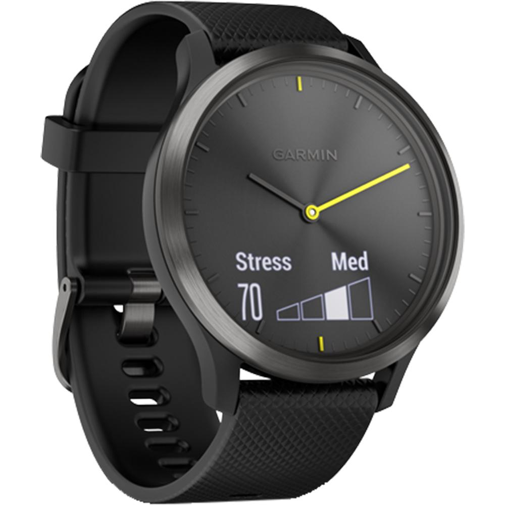 Smartwatch Vivomove HR Negru Si Curea Neagra