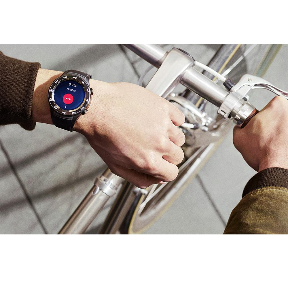 Smartwatch Watch W2 Carbon Curea Sport LTE Negru