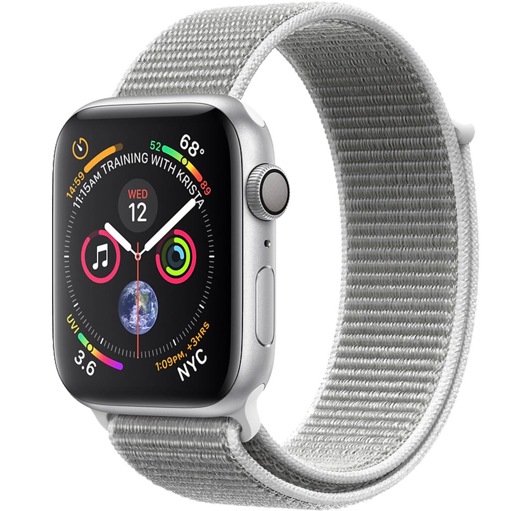 Smartwatch Watch 4 GPS 40MM Aluminiu Argintiu Si Curea Loop Argintiu