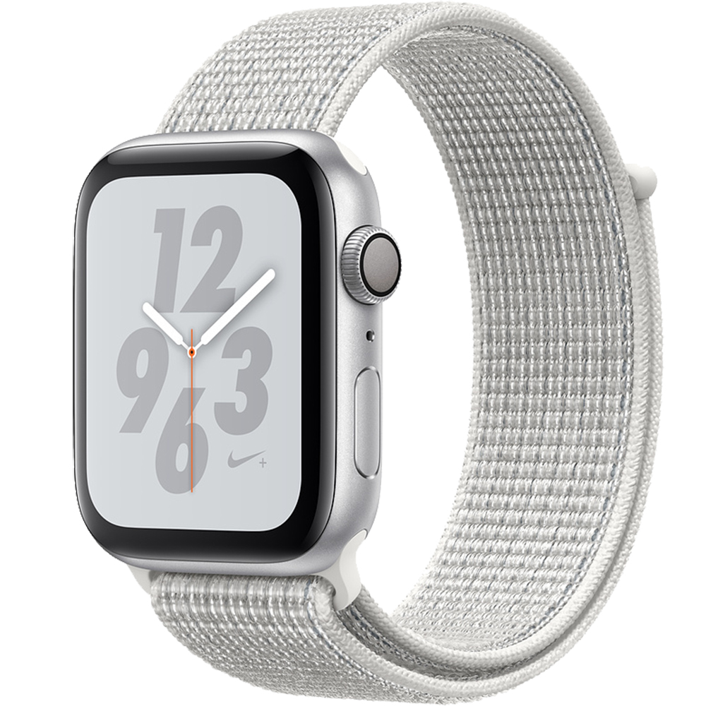 Smartwatch Watch 4 Nike Plus GPS 40MM Aluminiu Argintiu Si Curea Sport Loop Alb