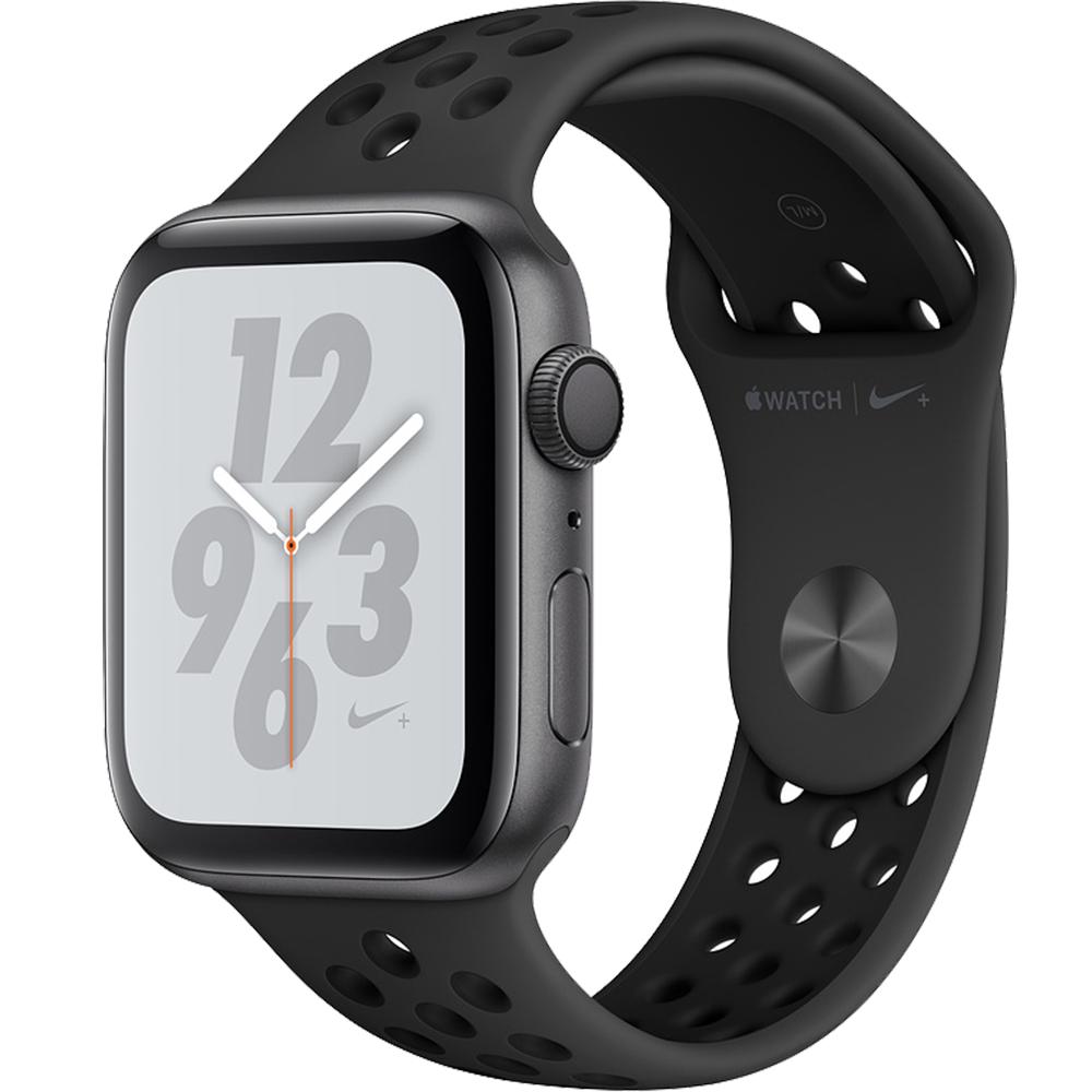 Smartwatch Watch 4 Nike Plus GPS 40MM Aluminiu Negru Si Curea Sport Antracit Negru