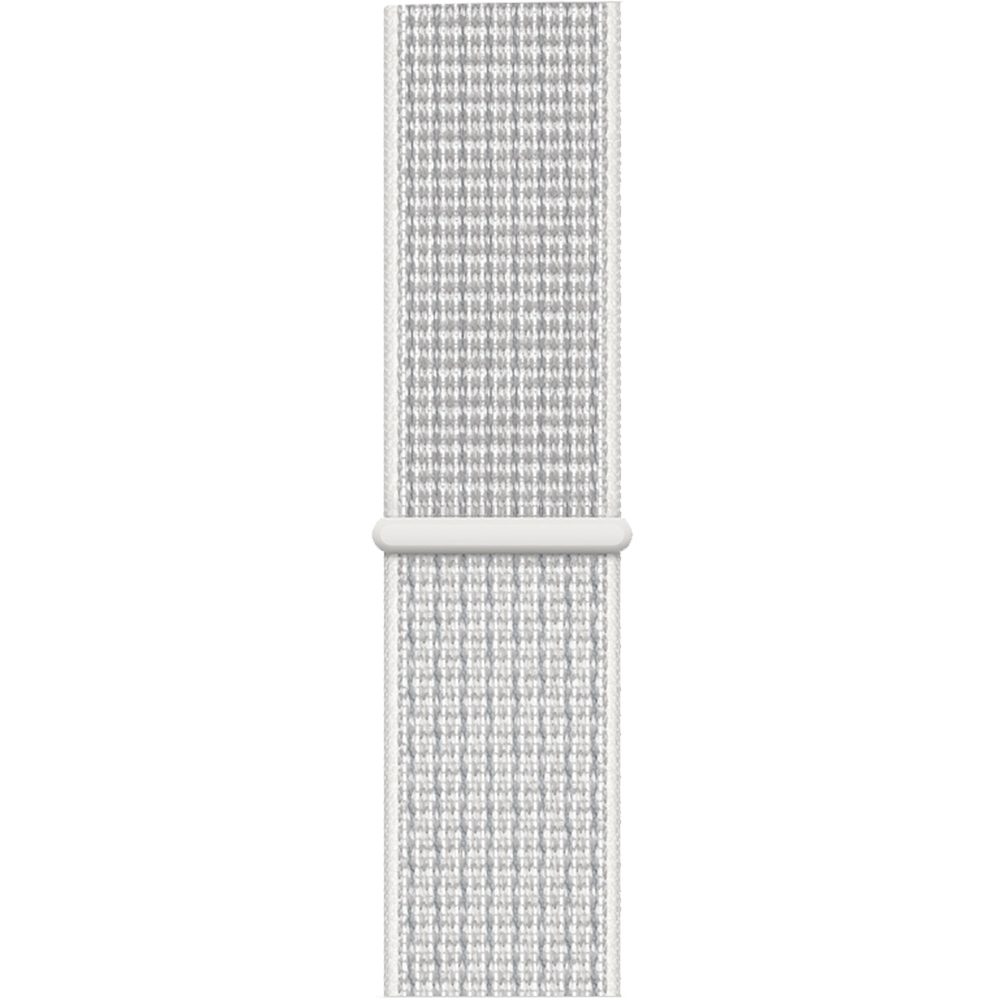 Smartwatch Watch 4 Nike Plus GPS 44MM Aluminiu Argintiu Si Curea Sport Loop Alb