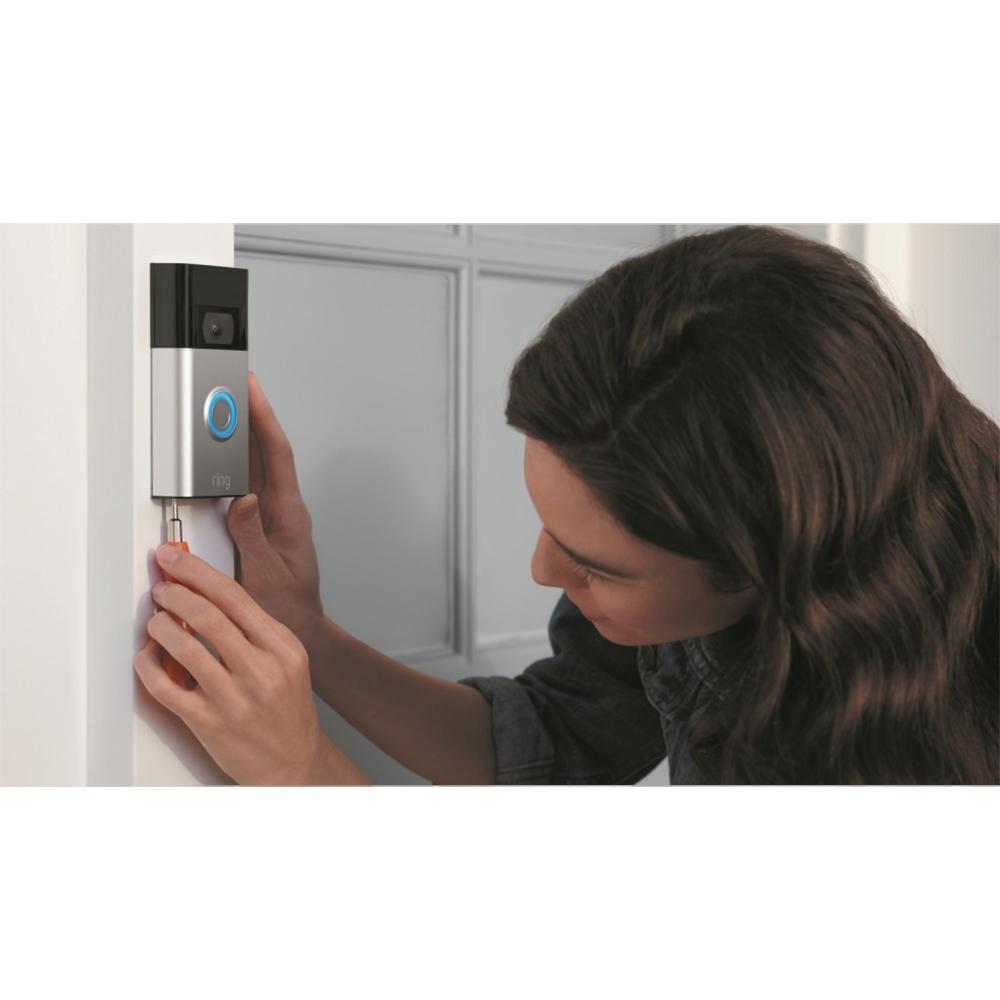 Sonerie Video Doorbell (2nd Gen) Satin Nicke Argintiu