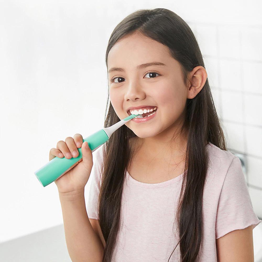 Sonic Periuta De Dinti Electrica Pentru Copii  Verde