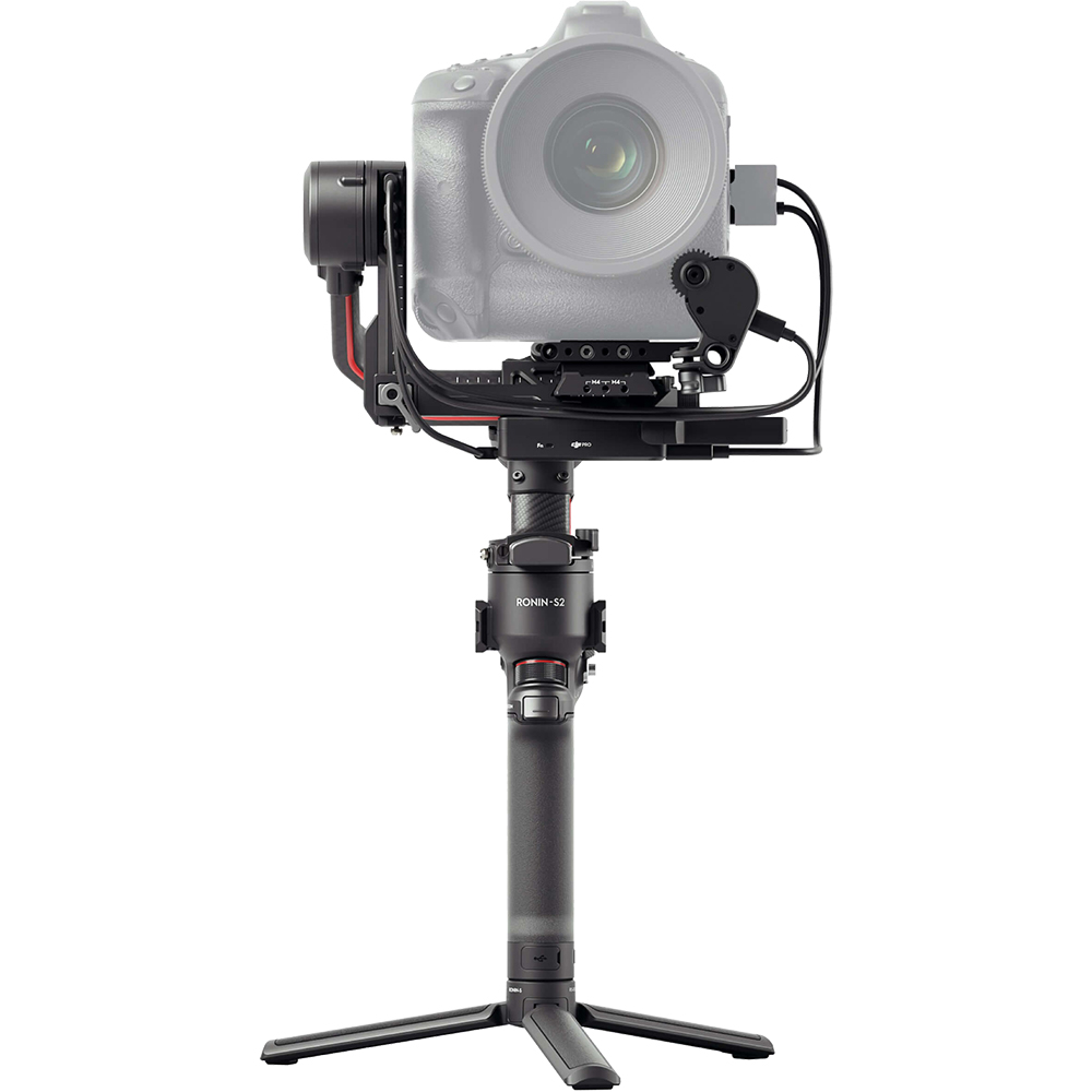 Stabilizator RS 2 Pro Combo, 3 Axe, Active Track, 3D Auto Focus, SuperSmooth, Time Tunnel, Negru-Carbon