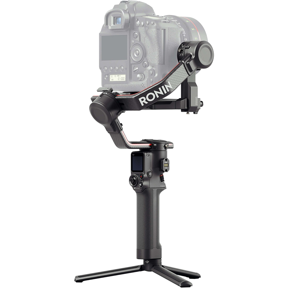 Stabilizator RS 2, 3 Axe, Active Track, 3D Auto Focus, SuperSmooth, Time Tunnel, Negru-Carbon