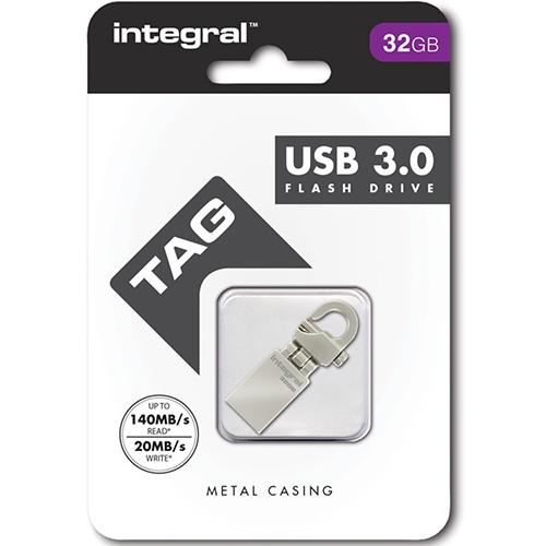 Stick USB 32GB Tag Drive Gri