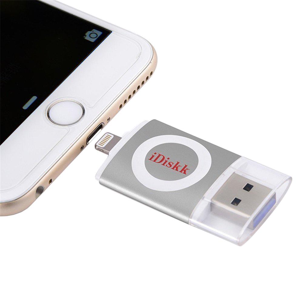 Stick USB 16GB U003 USB 3.0, MFI Argintiu