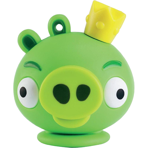 Stick USB 8GB Angry Birds King Pig Verde