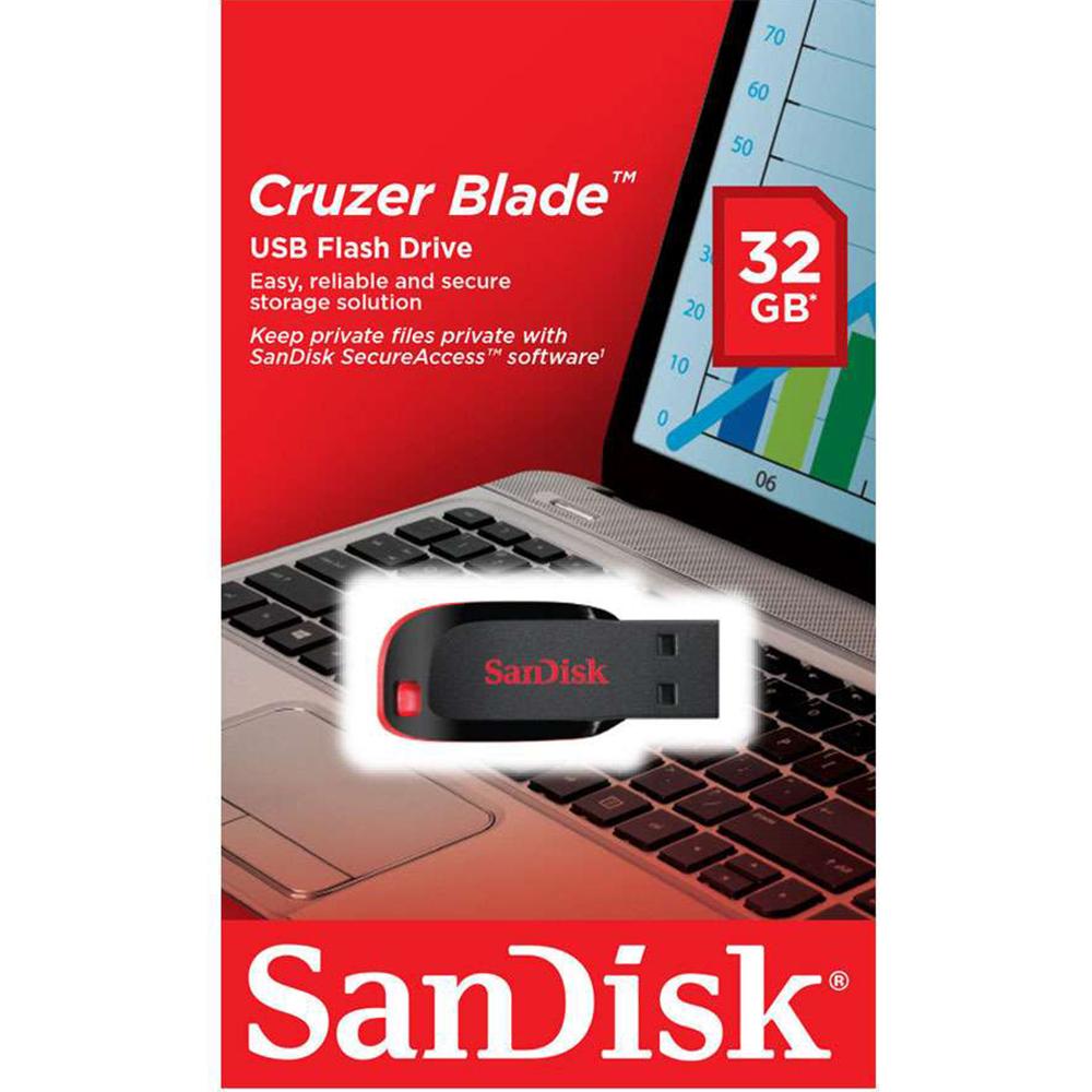 Stick USB  Cruzer Blade 32GB