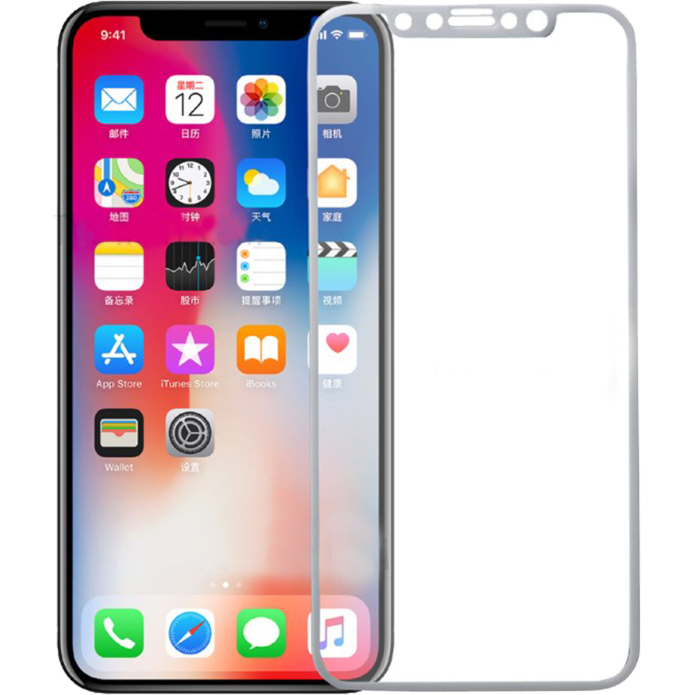 Sticla Securizata Full Body 3D Curved Alb APPLE iPhone 11 Pro, iPhone X