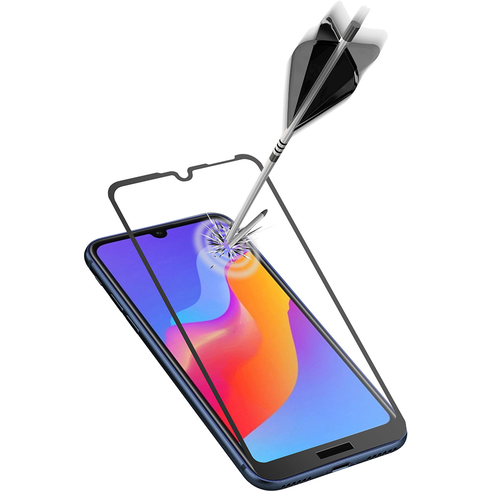Sticla Securizata Full Body Anti-Shock Negru Huawei Y6 (2019)