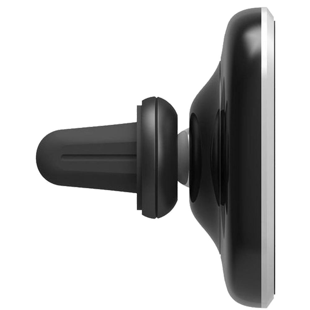 Suport Auto Magnetic Cu Incarcare Wireless Negru