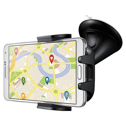 Suport auto pentru orice model de smartphone pe culoare negru