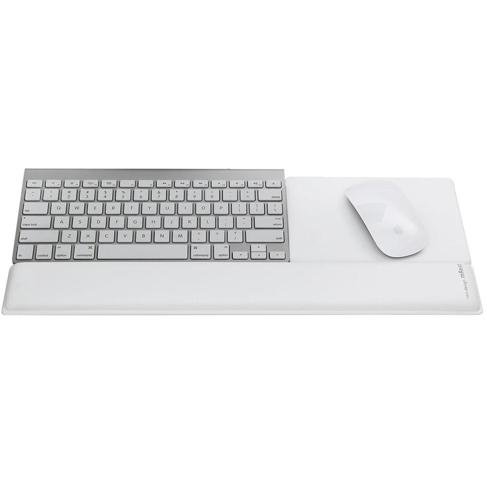 Suport Birou mRest Suport Tastatura Si Mouse Alb