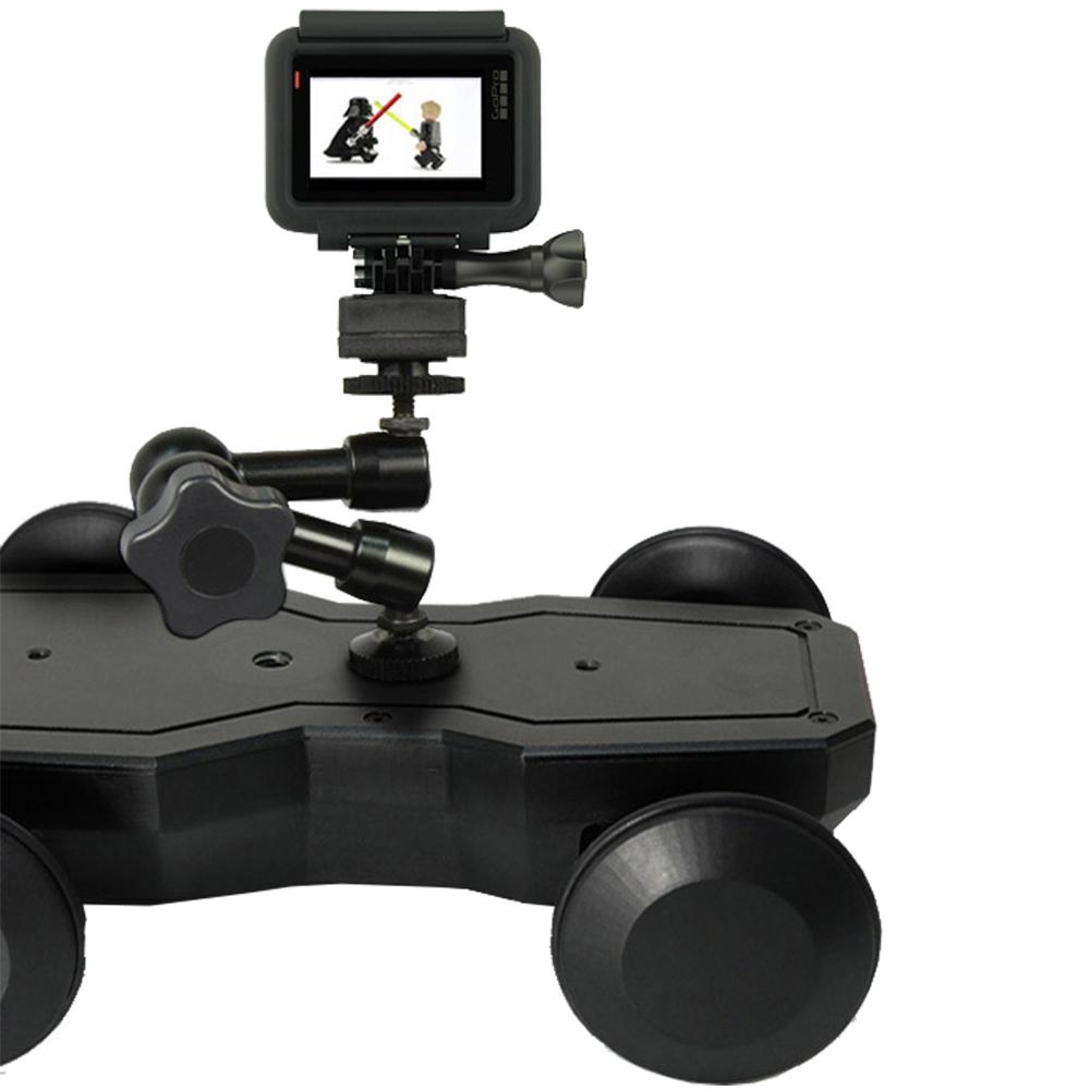 Suport Motorizat Pentru Camere Video + Maneta Control Negru