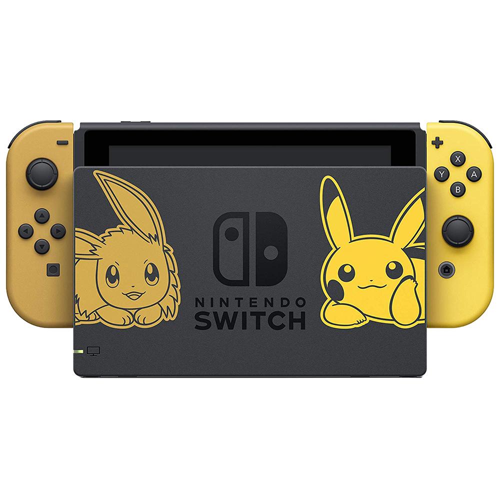 Switch Pokemon Let's Go Evee + Ball Plus