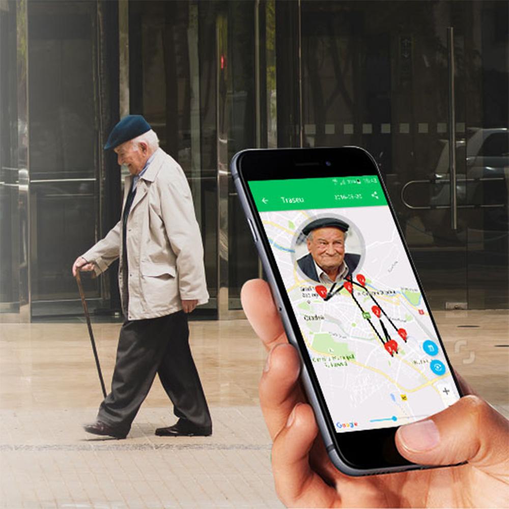 Telefon Senior Butonul Vietii + Abonament SOS 12 Luni