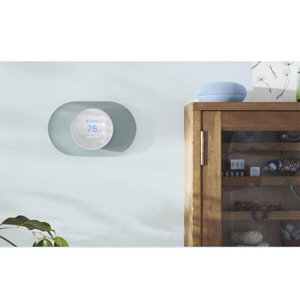 Termostat Nest Fog Cu Senzori De Miscare, Temperatura, Umiditate Si Lumina Ambientala, Gri