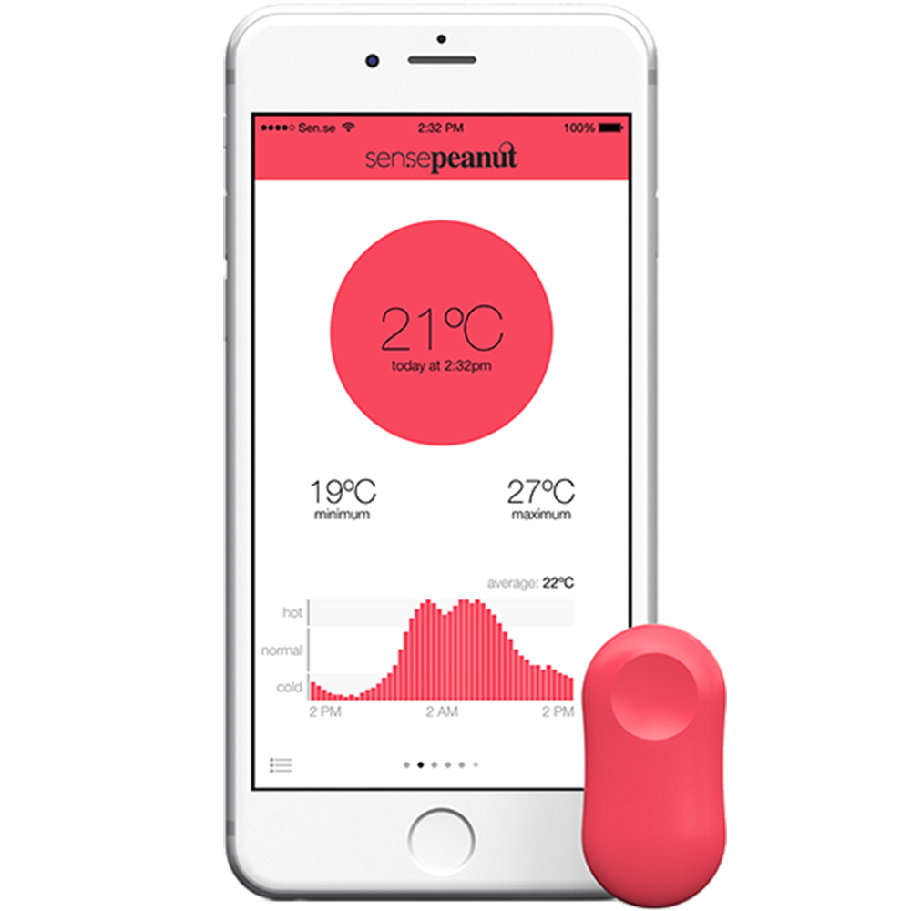 ThermoPeanut Termometru Wireless Inteligent