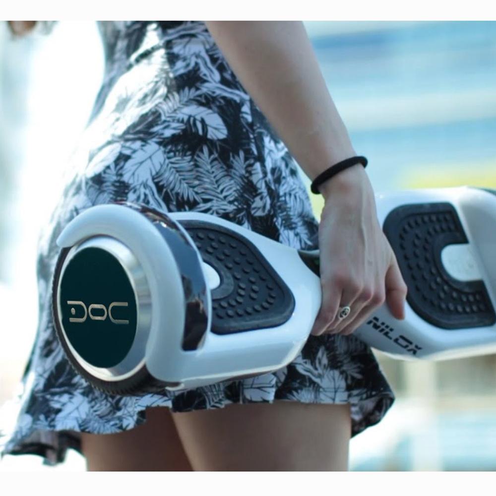 Transportor Electric Doc 2 Plus Bluetooth Rosu + Husa