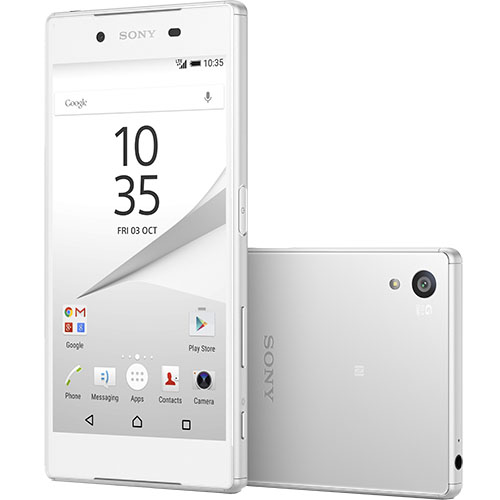 Xperia Z5 Dual Sim 32GB LTE 4G Alb 3GB RAM