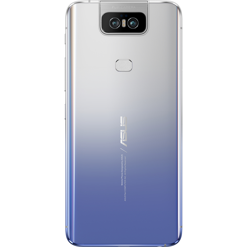 Zenfone 6 Dual Sim Fizic 128GB LTE 4G Argintiu 6GB RAM