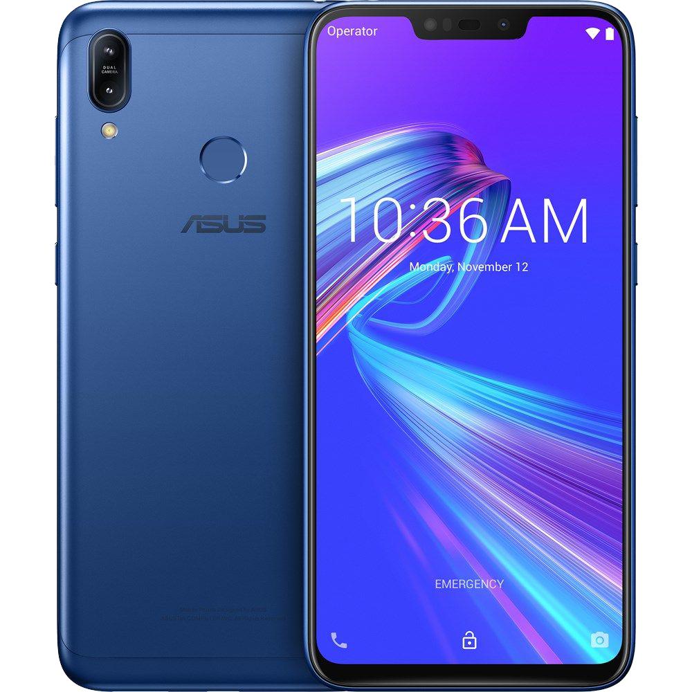 Zenfone Max (M2) Dual Sim Fizic 64GB LTE 4G Albastru 4GB RAM