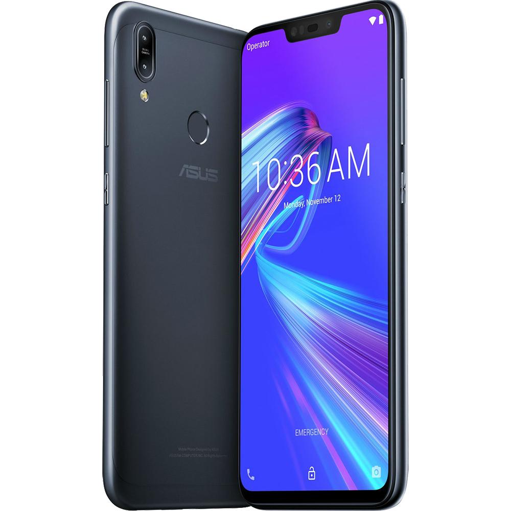 Zenfone Max (M2) Dual Sim Fizic 64GB LTE 4G Negru 4GB RAM