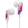 Casti Audio Liquids Stereo In Ear cu Microfon Multicolor