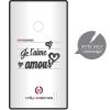 Husa Capac spate Clove Hidden Message Negru NOKIA Lumia 520